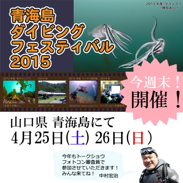 青海島ダイビングフェスティバル2015
